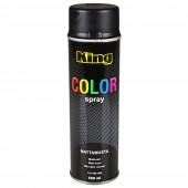 Maali, matta musta spray 500ml [KING]