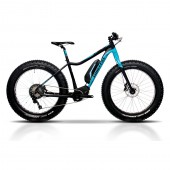 Timeless FAT E-bike, Shimano du-8000, sin/musta 45 cm